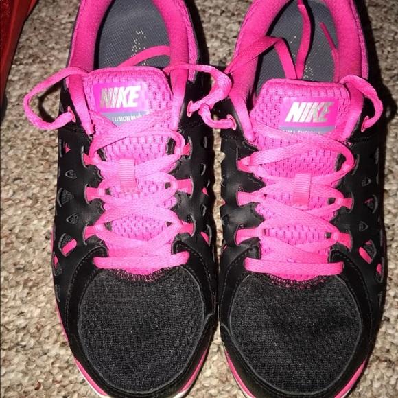d7398af958a0a Nike Dual Fusion Run 2 Black Pink. M 5ba0ae7e4cdc303bff19c93b